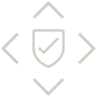 shield with check mark in middle